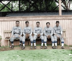 Georgetown Five (Colorized): 1928