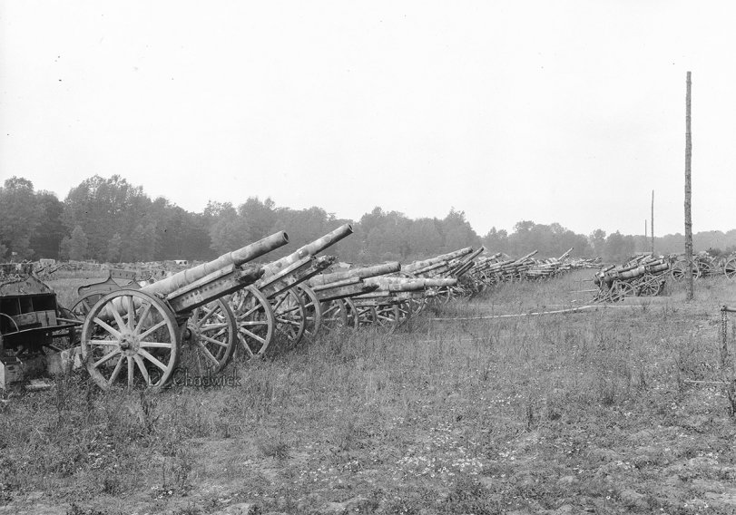 Surrendered German Artillery – 1919