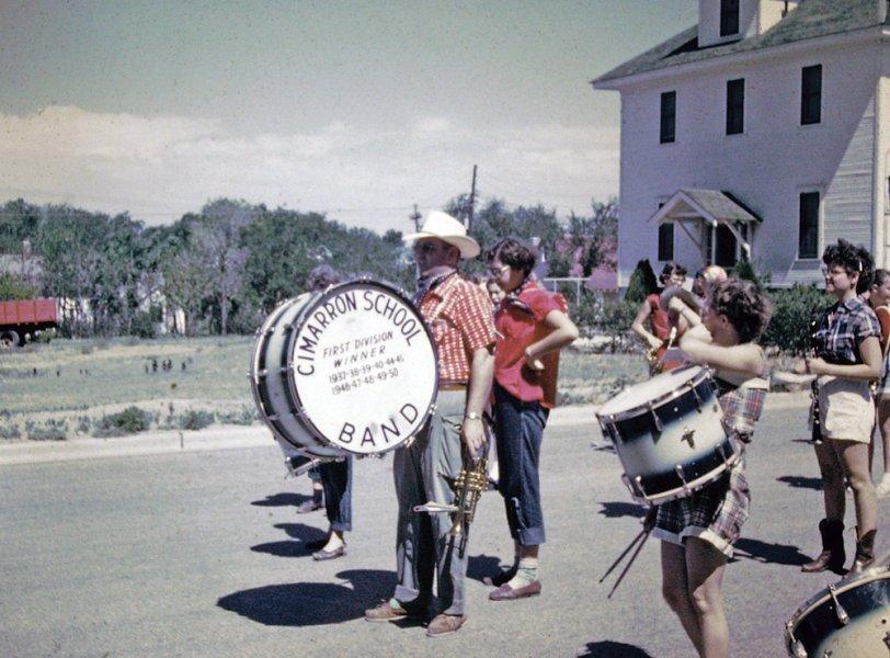 Cimarron School Band: 1952