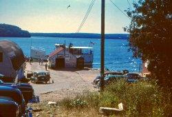 Gill's Rock Landing: 1950