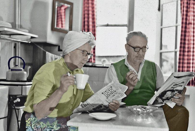 Gardening Break: 1952