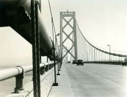 A Drive Across the Oakland Bay Bridge