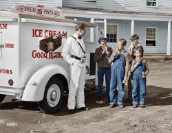 Good Humor Boys (Colorized): 1941