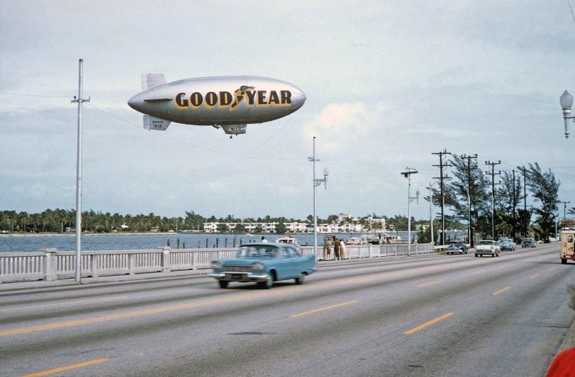 Goodyear Blimp: 1956