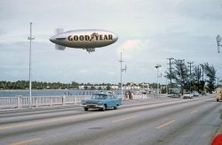 Goodyear Blimp: 1956