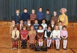 First grade: 1969