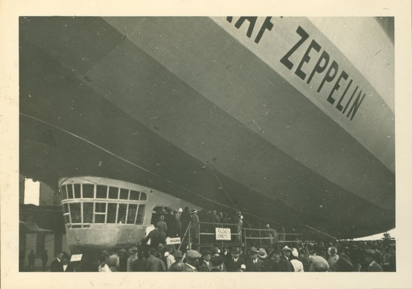 Graf Zeppelin in 1933