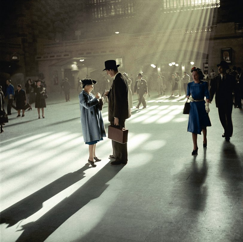 Grand Central (Colorized): 1941