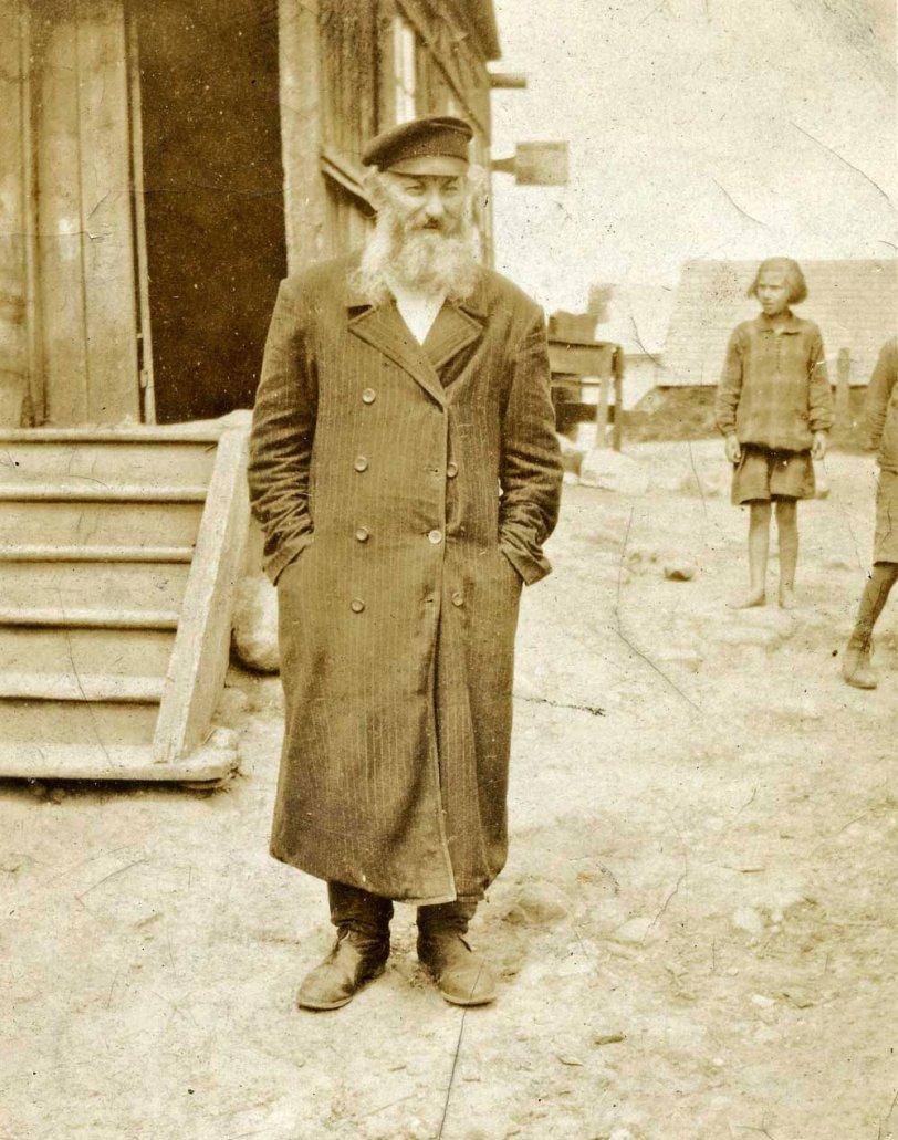 Grandfather in Russia, 1921