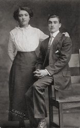 Brother and Sister: 1914