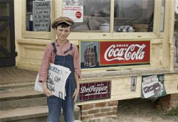 Grit 'n' Coke (Colorized): 1938