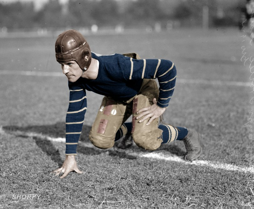Guy Hottel: 1924 - Colorized