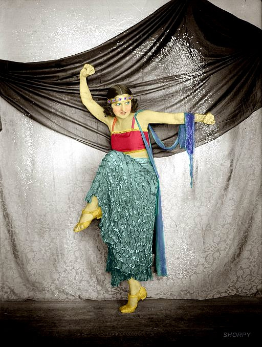 Gypsy Dance (Colorized): 1915