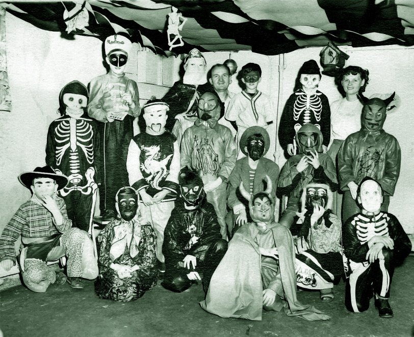 Halloween Party: 1949