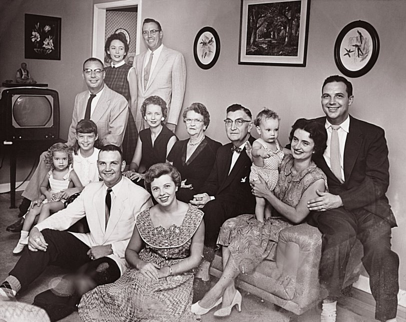 The Harrison Family: 1955