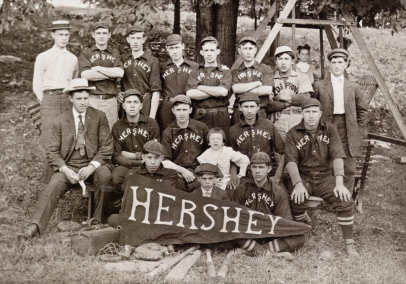 Hershey Baseball Team: c. 1900s