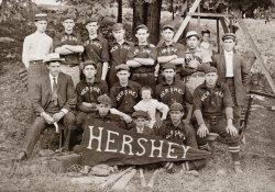 Hershey Baseball Team: c. 1900s