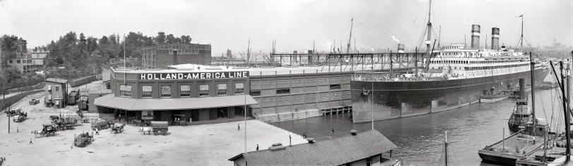 S.S. Rotterdam: 1910