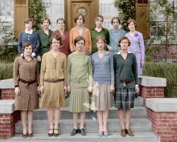 Leading Ladies (Colorized): 1927