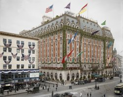 Hotel Astor (Colorized): 1909