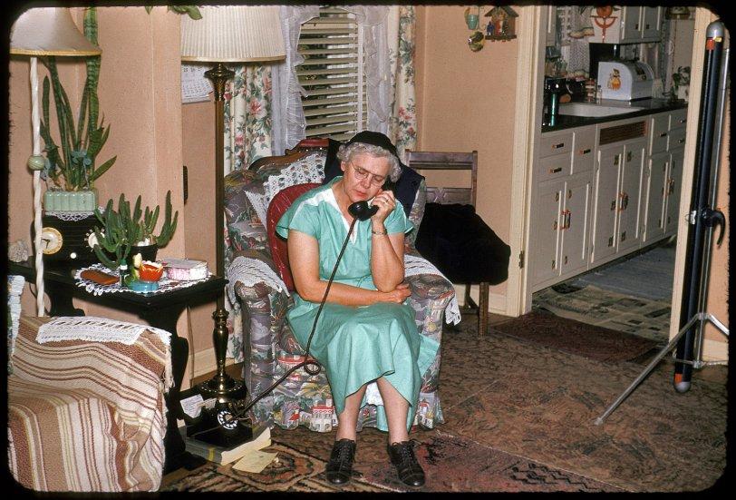 Hello, Doily: 1952