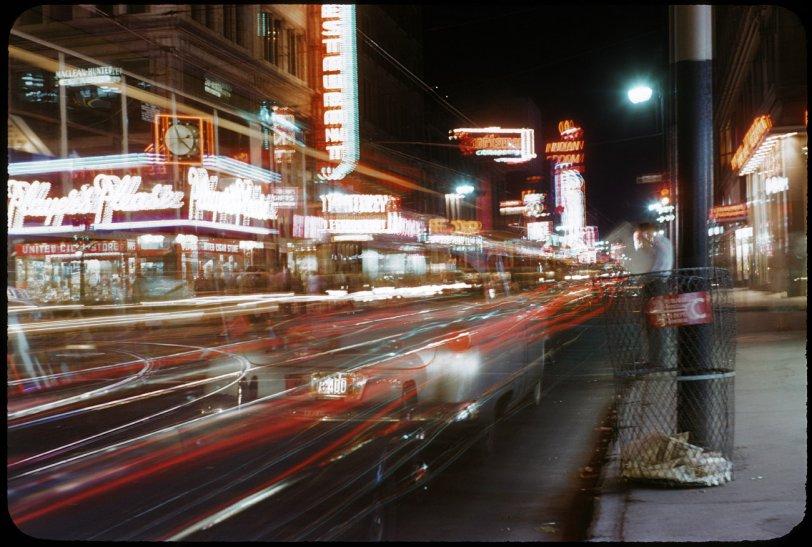 Night on Catherine: 1954