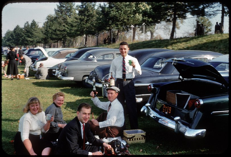 Yale-Colgate Tailgate: 1954