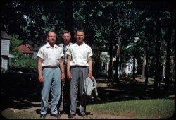 Ralph, Dan, Richie: 1955