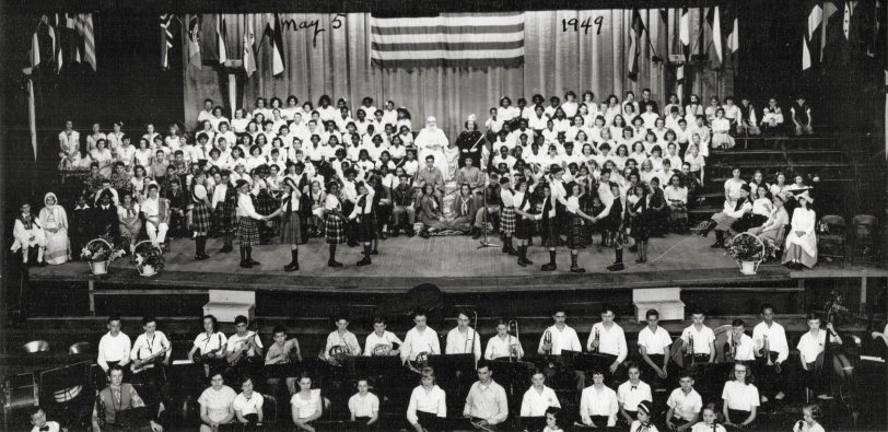 Dayton Youth Concert: 1949