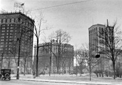 Detroit Grand Circus Park, approx 1920