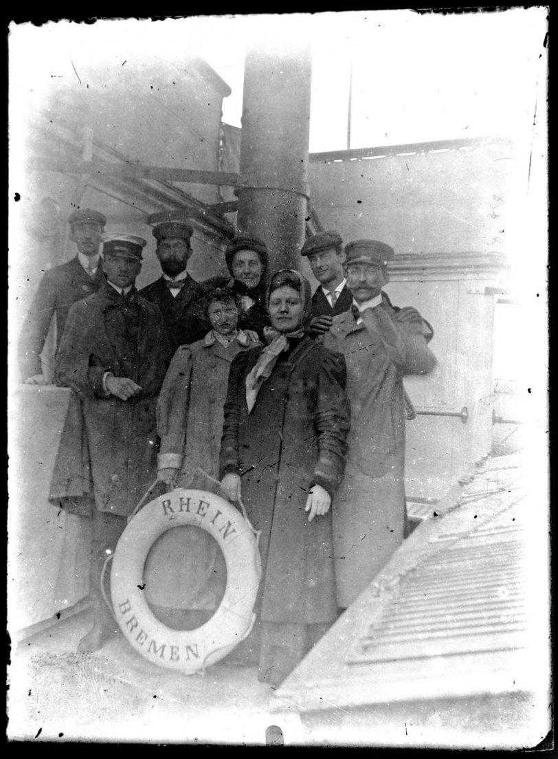 Trans-Atlantic travel, 1907