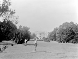 Sweeping the White House Lawn