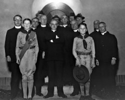 Scouts and priests