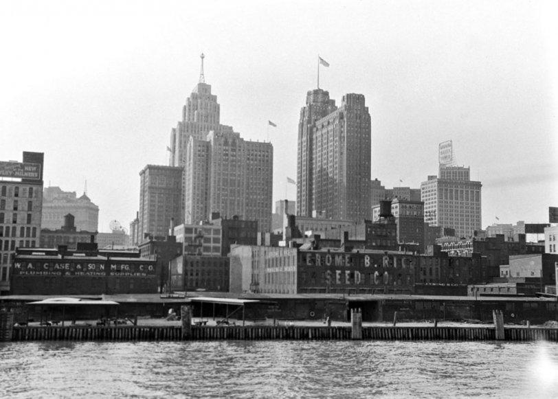 Detroit, 1930s