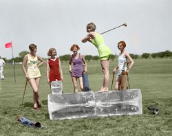 Iced Tee (Colorized): 1926