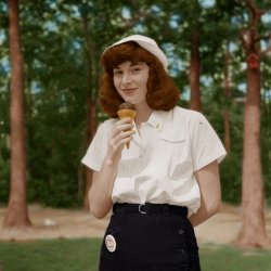 Dairy Queen (Colorized): 1942