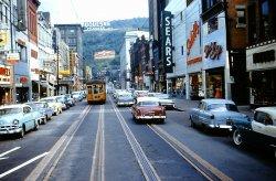 America's Last Small City Streetcar: 1959