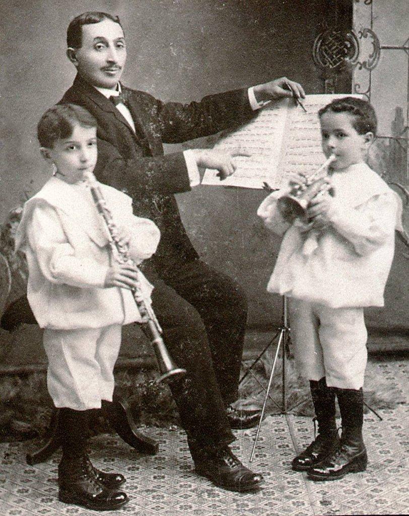 Musical Family: c. 1902