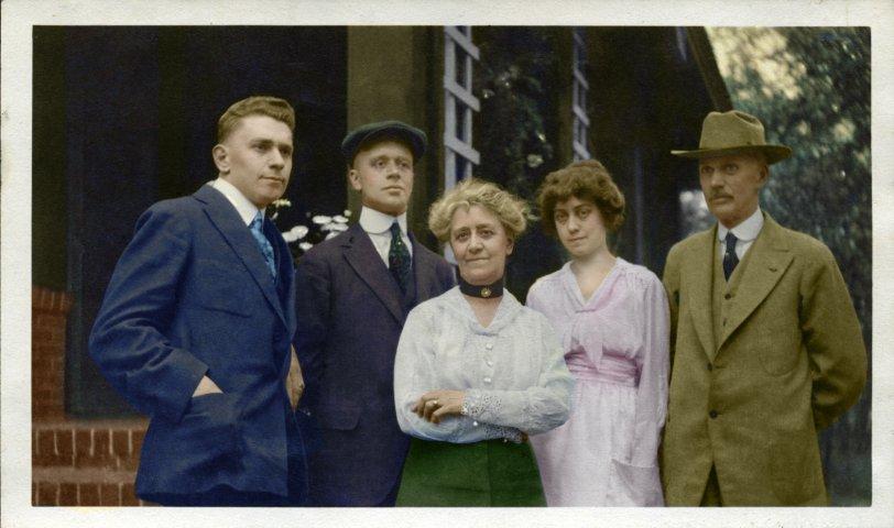 C.W. Jenne Family: 1919