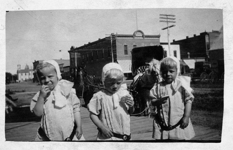 Jensen Triplets circa 1912