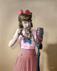 Queen of Comedy (Colorized): 1940s