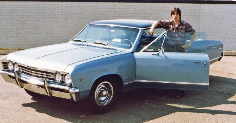 Me and Grandpa's Chevelle