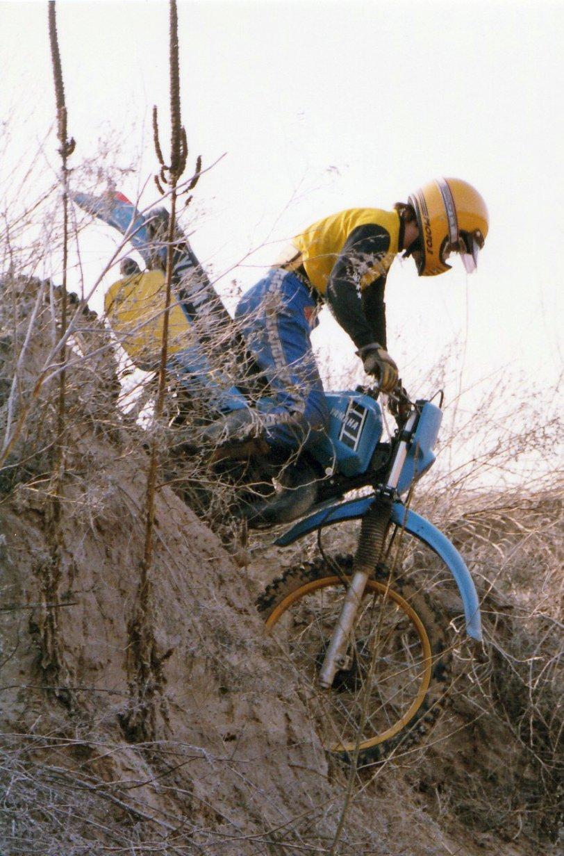 Dirt Bike Riding: 1983