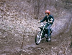 Motorcycle Hill Climb: 1974