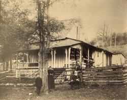 Hewitt Family Home: 1895