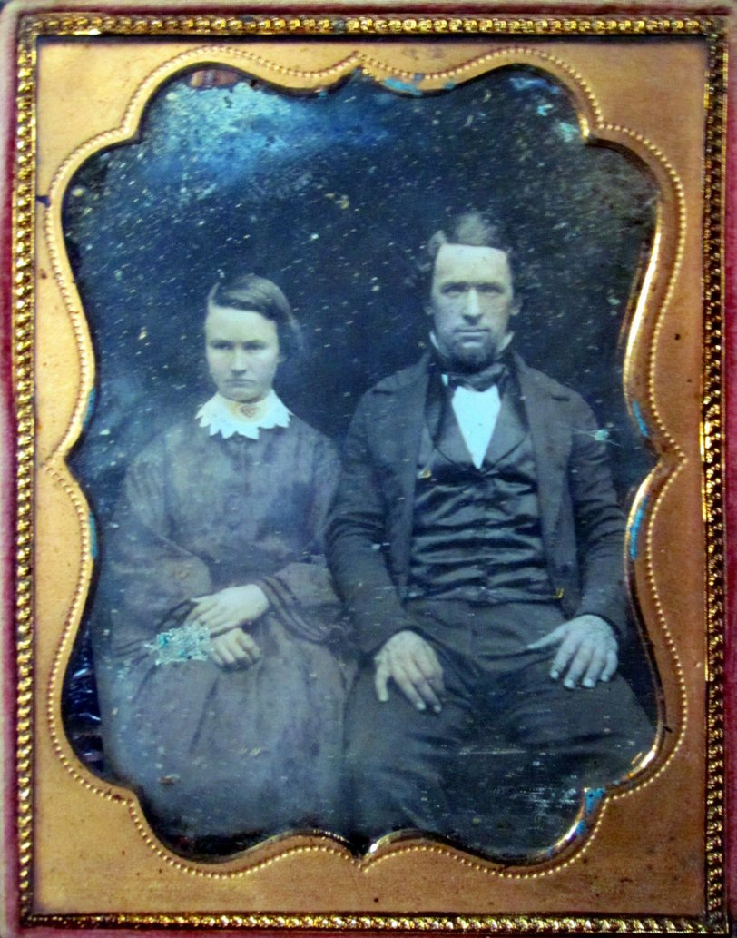 Wedding Day Daguerreotype: 1854