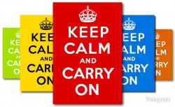 Keep Calm and Carry On: 1939
