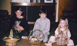 Excited Easter Kids