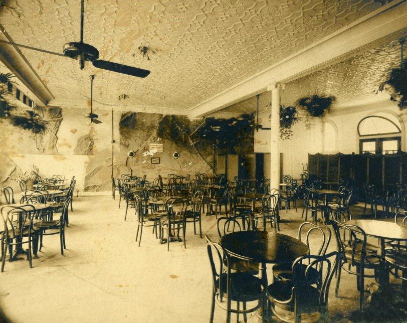 Beer Garden Interior