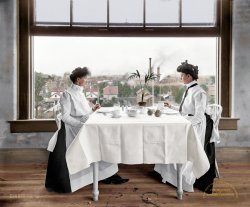 Light Lunch (Colorized): 1902
